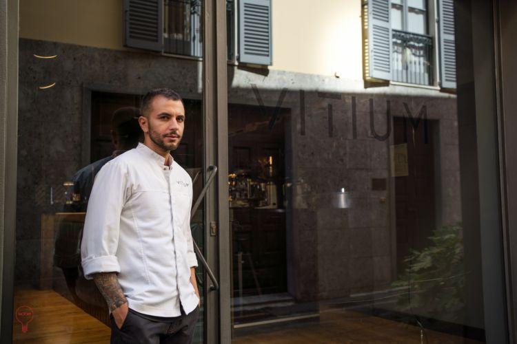 Lo chef Michele Minchillo