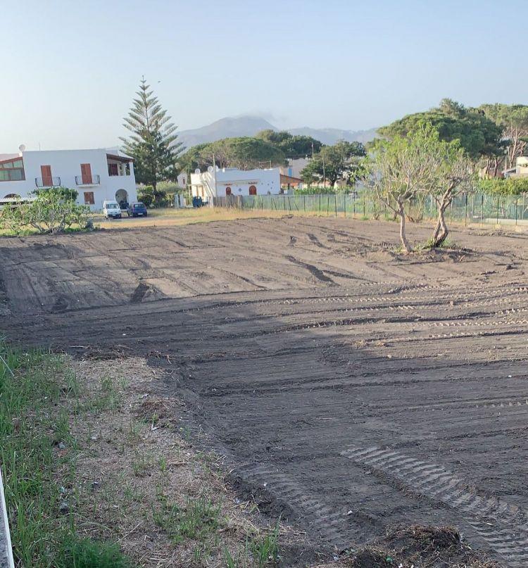 Il terreno acquistato accanto al Therasia