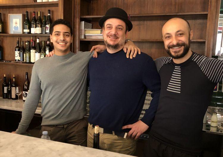 I SOCI. Josef Khattabi, Enricomaria Porta e Diego Rossi