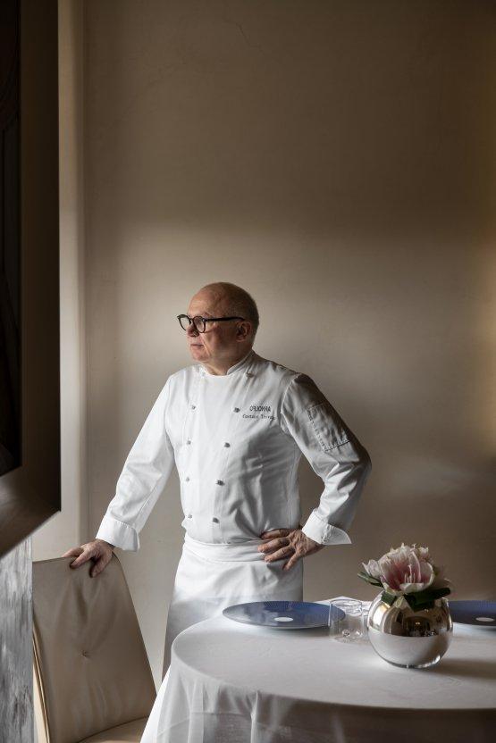 Lo chef Gaetano Trovato(foto diStefano Scatà)