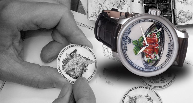 Montre for chefè la linea di orologi di Zannetti dedicata ai piatti dei grandi chef
