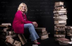 Antonella Clerici, ospite di Identità Milano nella sezioneIdentità TV - 60 anni di alta qualità a tavola(tutte le foto sono di Brambilla-Serrani)