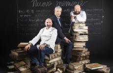 Andrea Ribaldone,Marco Niccolai e Domingo Schingaro a Identità Milano 2019 (tutte le foto sono di Brambilla-Serrani)