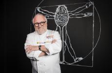 Antonello Colonna, gran chef romano, ospite questa sera e domani sera a Identità Milano in un quattro mani con Andrea Ribaldone