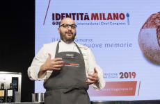 Il portoricano Antonio Bachour sul palco di Dossier dessert