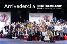 Final group photo at Identità Golose last year in March, edition number 15. We have to wait a little more for the 16th edition, for causes that are independent of our will. But it will come