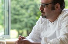 Paolo Lopriore è chef patron de Il Portico di Appiano Gentile (Como). Foto Sonia Gioia