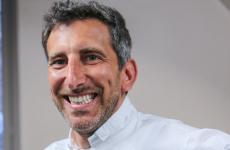 Andrea Sarri, chef patron del ristorante Sarri a Borgo Prino, Imperia