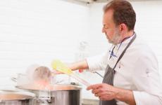 Nicola Portinari è lo chef de La Peca di Lonigo (Vicenza)