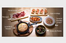 Un esempio diTapas Ricas, la proposta delivery/take away del ristorante Condividere di Torino