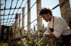 Stefano Baiocco, anconetano, classe 1973. Dal 2004 è chef di Villa Feltrinellia Gargnano (Brescia), ristorante che ha guadagnato la prima stella Michelin nel 2007e la seconda nel 2013. Tornerà ad aprile 2021