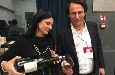Lo slovenoMarjan Simcic, tra i protagonisti della degustazione organizzata poche settimane fa da Cuzziol Grandivini all'hotel Excelsior Gallia di Milano