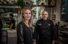Giulia ed Eduardo Tuccillo di Twist - Kitchen and Tapas, 42 Crawford street, Londra, telefono +442077233377