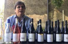 Paolo Calì, titolare dell'omonima azienda vinicolain via del Frappato 100 a Vittoria (Ragusa)