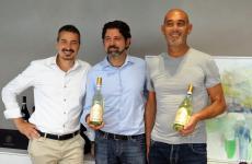 Pierangelo, Giancarlo e Piergiorgio Tommasi,quarta generazione diTommasi Family Estates