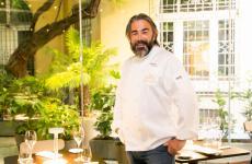 Philippe Léveillé, nella sala di Identità Golose Milano. Francese di Cancale, classe 1963, è chef del ristoranteMiramonti l'Altro di Concesio (Brescia), due stelle Michelin. E' in Italia dal 1987
