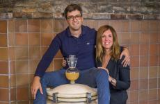 Riccardo e Maria Bianco, titolari della Cantina Mongioia in frazione Valdivilla 40 a Santo Stefano Belbo (Cuneo)