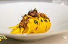 Lo Spaghetto Milano, oggetto della quinta puntata diCapolavori italiani in cucina,collaborazione traIdentità Goloseela popolare trasmissione di Canale 5 Striscia la notizia