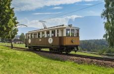 Il trenino del Renon storico (foto Tourismusverein Ritten/Tiberio Sorvillo)
