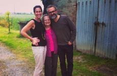 Lidia Cristoni con Lara Gilmore e Massimo Bottura in una foto del 2015