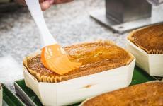 Il delizioso Fiocco al mais. Prodotto da grandi pasticceri e chef, il ricavato che andrà a sostenere l'operato dell'Hospice Pediatrico di Padova