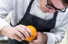 Nino Rossi è lo chef-patron del Qafiz all'interno di Villa Rossi, a Santa Cristina d'Aspromonte (Reggio Calabria)