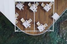 Spunti e consigli per chi approfitterà del ponte del 1 maggio per passare qualche giorno al mare: nella foto, una visione dall'alto del ristorante Balzi Rossi, a Ventimiglia