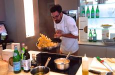 Luciano Monosilio, chef at Pipero al Rex in Rome, was the protagonist, a few hours ago, of Identità di Pasta, the weekly event organised at Identità Expo S.Pellegrino in collaboration with Pastificio Felicetti
