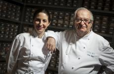 "Elena and Juan Marì Arzak in their ""Banco de Sabores"" (photo by Coconut)"