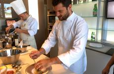 Chef Enrico Bartolini of Devero in Cavenago di Brianza was yesterday's protagonist at Identità di Pasta