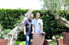 Antonio e Luca Abbruzzino, padre e figlio: hanno completamente rinnovato il loro locale di Catanzaro Lido (le foto sono di Tanio Liotta)