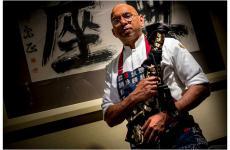 Wicky Priyan, lo chef nato nello Sri Lanka ma giapponese di formazione e italiano d'adozione, al suo Wicky's di Milano