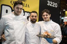 I fratelli Andrea, Matteo e Alberto Rundo