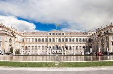 La splendida Villa Reale di Monza. Qui i Cerea apriranno un secondo Da Vittorio, poi un bistrot a marchioViCooke uno spazio eventi, nel Belvedere