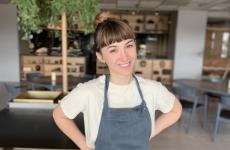 Jessica Natali, 26 anni, sous chef diInuaa Tokyo, ristorante del gruppoKadokawa, con la consulenza delNoma. Ieri l'insegna ha ottenuto due stelle dirette nell'edizione2020 della Guida Michelin di Tokyo