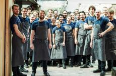 The complete team at René Redzepi's Noma