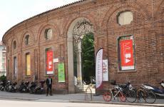 L'ingresso di Best Wine Stars 2019, alla Rotonda della Besana di Milano