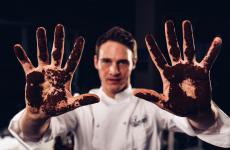 Antonio Scarantino, siciliano classe1988, è chef di AlMare a Fano, nelle Marche