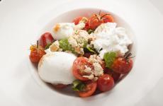 Caprese e tarallo: la ricetta estiva di Rosanna Marziale