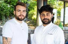 Bonny Ferrara, a sinistra, e Francesco Sodano