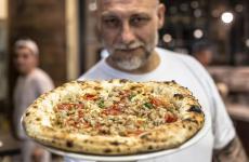 Francesco Martucci, patron-pizzaiolo atI Masanielliin Caserta