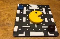 GAME OVER. What's your score on Pacman?E' il piatto che chiude l'ultimo menu degustazione da 25 corsedi Gaggan. Il ristorante riaprirà a ottobre ancora a Bangkok, in una sede top secret