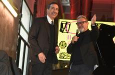 Umberto Montano, a destra, con il sindaco di Milano, Beppe Sala, alla presentazione del nuovo Mercato Centrale di Milano, apertura prevista l'8 aprile. Montano sarà tra i protagonisti di Identità Milano 2020