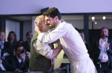 Corrado Assenza e Massimiliano Alajmo in un'immagine del congresso diIdentità Milano 2019. Il pasticciere siciliano e il cuoco padovano terranno lezione assieme in Auditorium domenica 8 marzo, ore 12.45