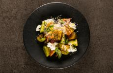 Pomodori verdi e fritti: la ricetta estiva di Valentina Chiaramonte(foto di Alberto Blasetti)