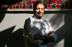 Ugo Alciati fotografato nella sala ristorante di Identità Golose Milano (foto di OnStageStudio)