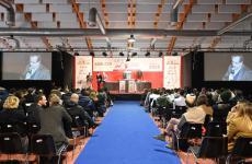 Il palco di Meet in Cucina Abruzzo. Tutte le immagini diAndrea Straccini
