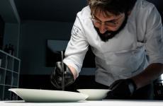 Jacopo Malpeli, parmense classe 1982, è lo chef dell'Antica Osteria della Peppina ad Alseno (Piacenza)
