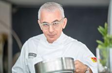 Lo chef Pasquale Caliri del Marina del Nettuno Yachting Club di Messina. È anche un Ambasciatore del Gusto