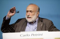 Carlo Petrini, aka Carlin, born in Bra (Cuneo), 71 on June 22nd. On December 9th 1989 he founded the international Slow Food movement